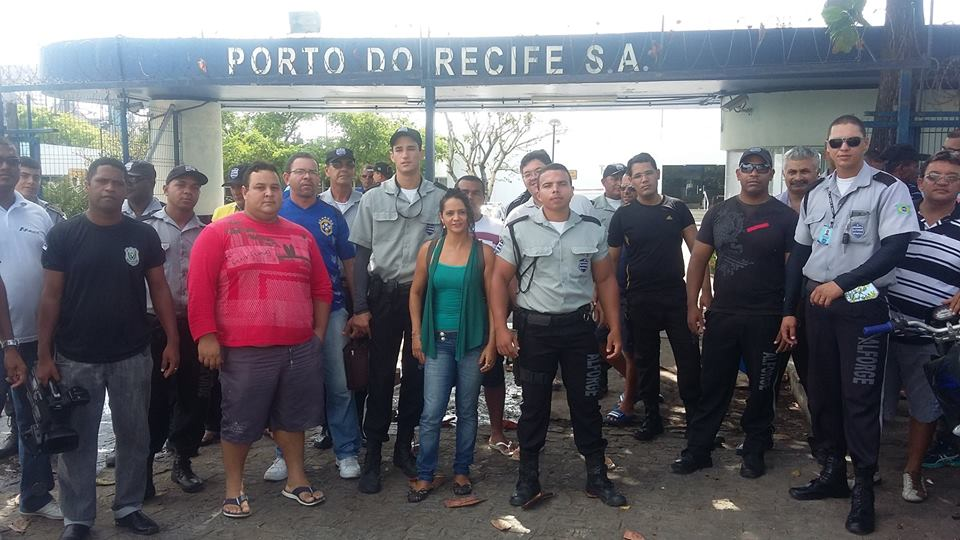 Ação Do SINDESV No Porto Do Recife